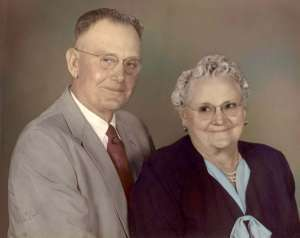 Joseph Edgar Page Dickey and Myrtle Hester Dickey
