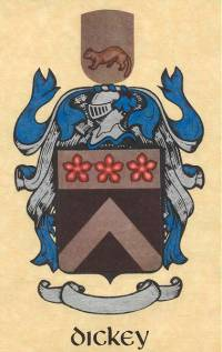 Dickey Family Coat of Arms